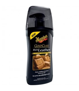 Meguiar's Gold Class Rich Leather Cleaner&Conditioner - Curatator si balsam piele